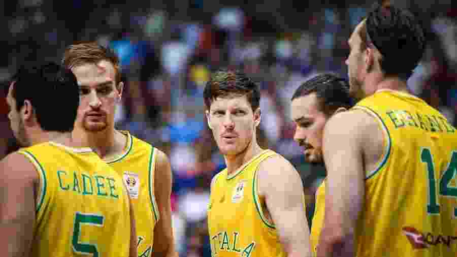 Jogadores da Austrália durante partida contra Filipinas - Divulgação/Fiba