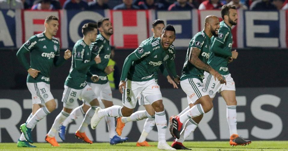 Libertadores | Com 2 de Borja, Palmeiras vence Cerro em Assunção