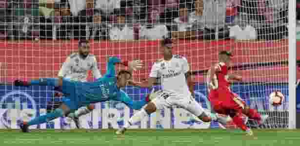 Girona abre o placar contra o Real Madrid - REUTERS/Albert Gea - REUTERS/Albert Gea