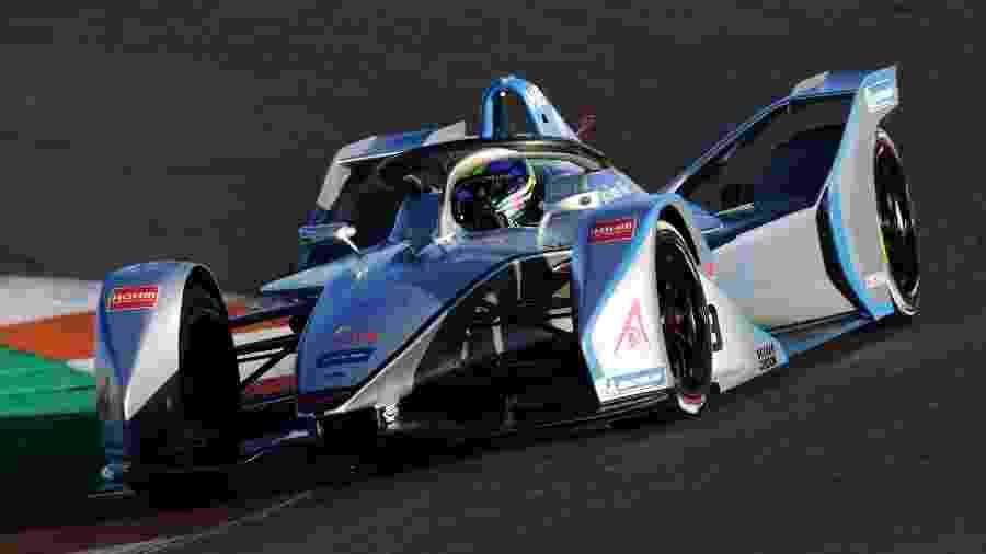 Brasileiro da Venturi largou em 12º, chegou a estar até em 8º e acabou em 14º - Divulgação/ABB Formula E