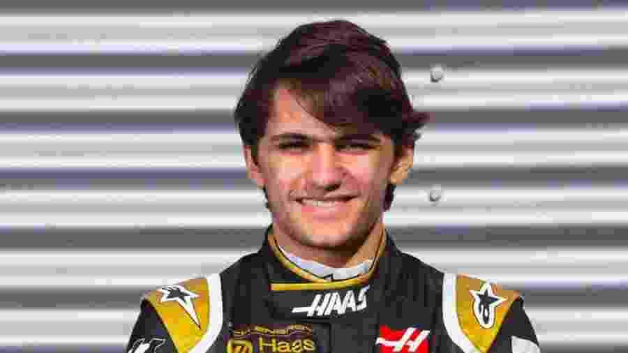 Pietro Fittipaldi ficou cerca de 30 minutos na pista pela Haas - Divulgação