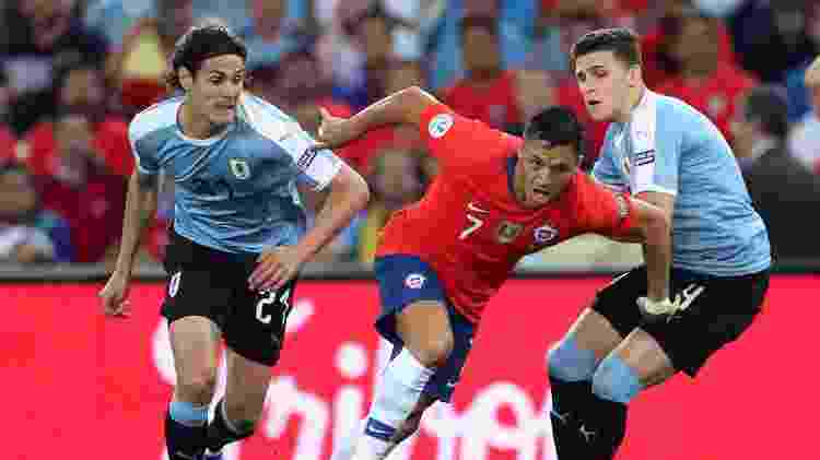 Sanchez, Chile x Uruguai - REUTERS/Ricardo Moraes - REUTERS/Ricardo Moraes
