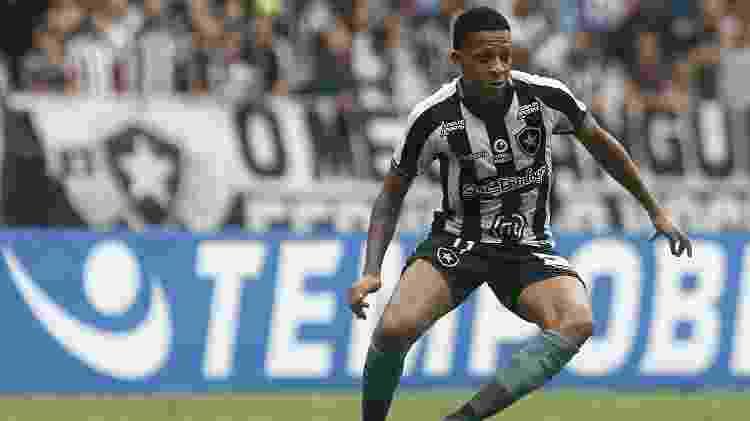 Bochecha fez boa partida contra o São Paulo - Vitor Silva/Botafogo - Vitor Silva/Botafogo