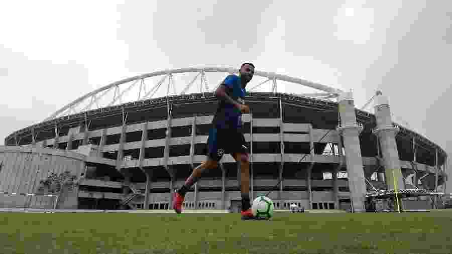 Alex Santana teve queda de rendimento e ainda não retomou forma física de antes da lesão - Vítor Silva/Botafogo