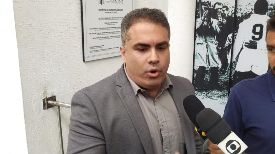 Orlando Rollo, vice-presidente do Santos - UOL