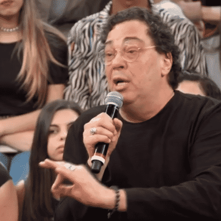Walter Casagrande em participação no Altas Horas - Reprodução/TV Globo
