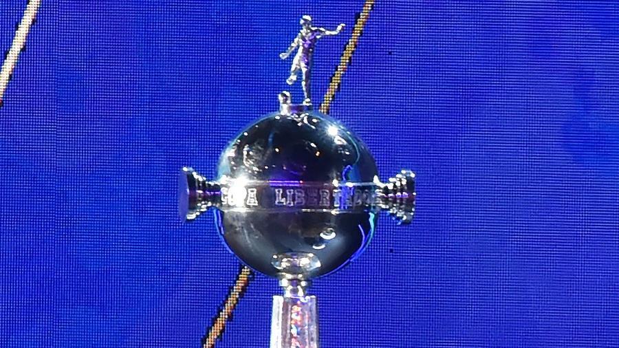 Taça da Libertadores, durante sorteio da Conmebol - Norberto DUARTE / AFP