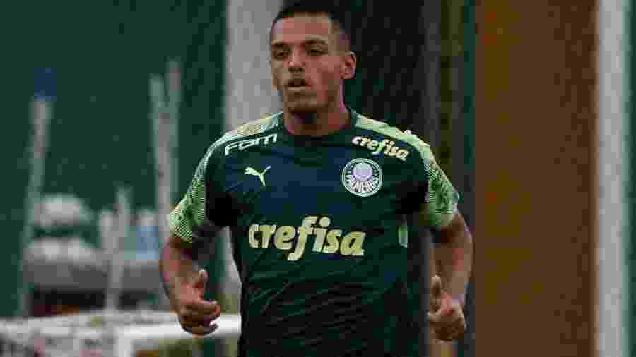 Gabriel Menino atuou como lateral na vitória sobre o Guarani - Cesar Greco/Ag. Palmeiras