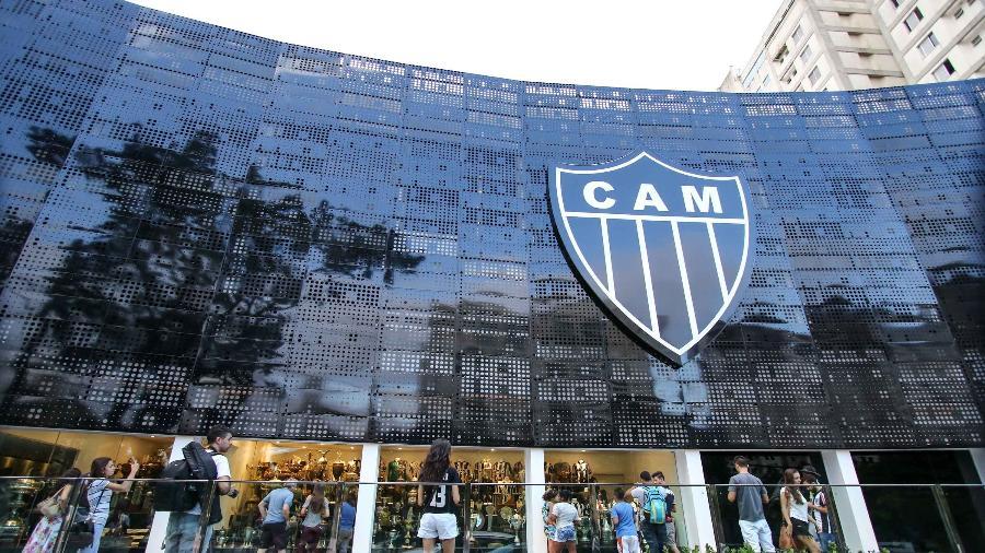 Fachada da sede do Atlético-MG - Bruno Cantini/Atlético-MG