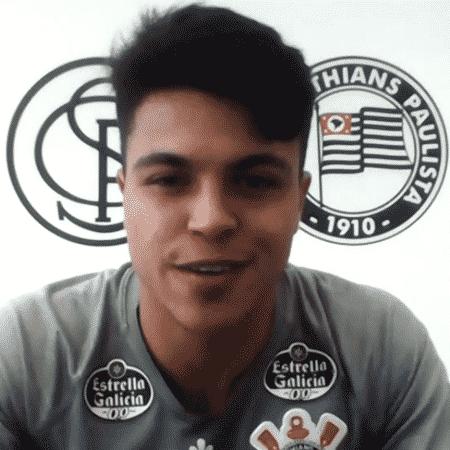 Roni, meio-campista do Corinthians, participou do Seleção SporTV - Reprodução/SporTV
