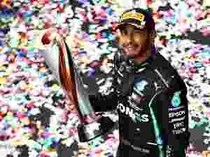 Lewis Hamilton comemora mais um título na F-1 - Bryn Lennon/Getty Images - Bryn Lennon/Getty Images