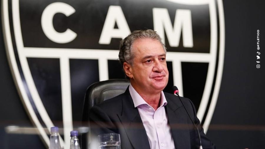 Sérgio Batista Coelho, presidente do Atlético-MG, é favorável ao retorno do público aos estádios já no início de outubro - Atlético