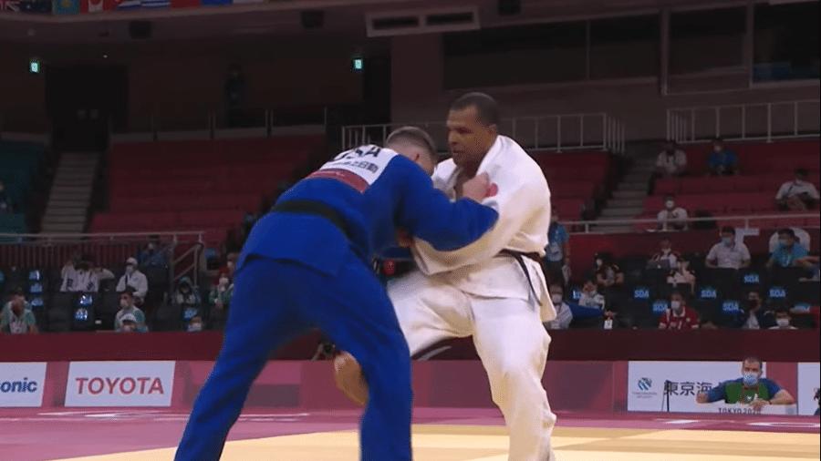 Antônio Tenório, durante semifinal nas Paralimpíadas 2020 - Reprodução/Paralympic Games
