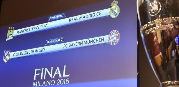 Liga dos Campeões pode ter clássico espanhol na decisão - Fabrice Coffrini/AFP