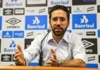 Zanotta é apresentado no Grêmio e cita Arsenal e Pachuca como exemplos (Foto: Lucas Uebel/Grêmio)
