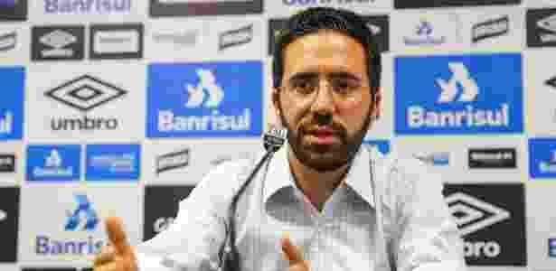 André Zanotta, ex-Santos e Sport, chegou ao Grêmio em março do ano passado - Lucas Uebel/Grêmio