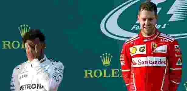Hamilton perdeu tempo atrás de carros com pneus desgastados; Vettel aproveitou - Reuters