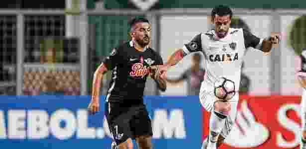 Fred não marcou contra o Libertad, mas participou dos gols do Atlético-MG - Bruno Cantini/Clube Atlético Mineiro - Bruno Cantini/Clube Atlético Mineiro