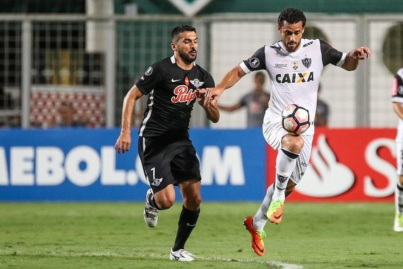 Fred não marcou contra o Libertad, mas participou dos gols do Atlético-MG