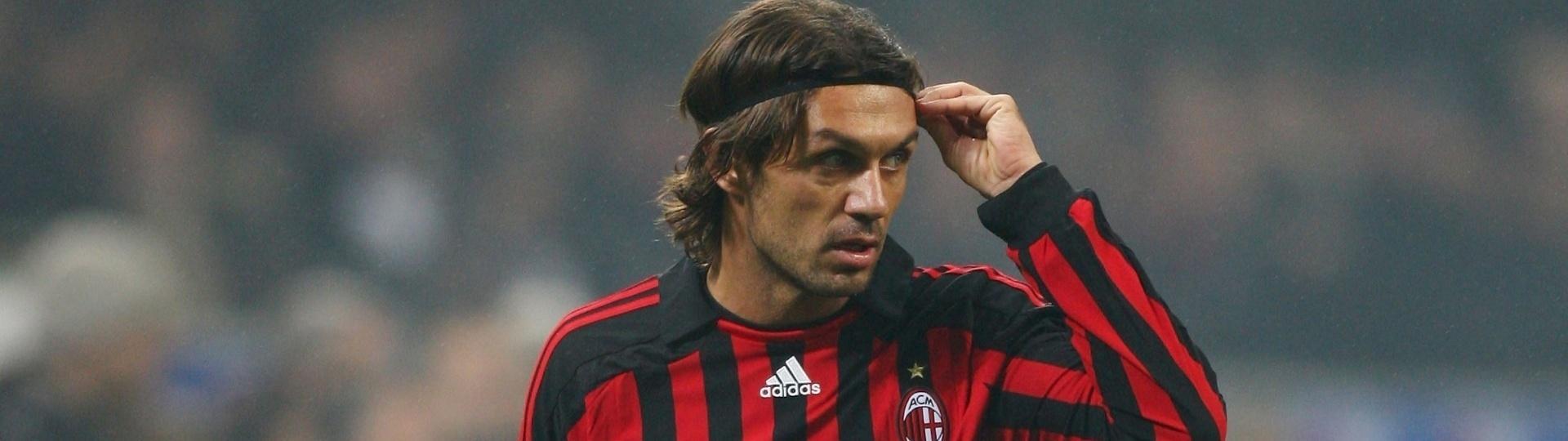 Paolo Maldini foi ídolo do Milan