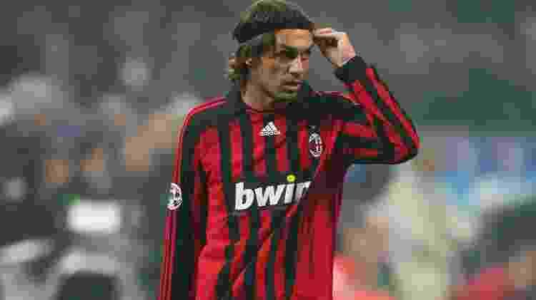 Maldini, do Milan - Michael Steele/Getty Images - Michael Steele/Getty Images