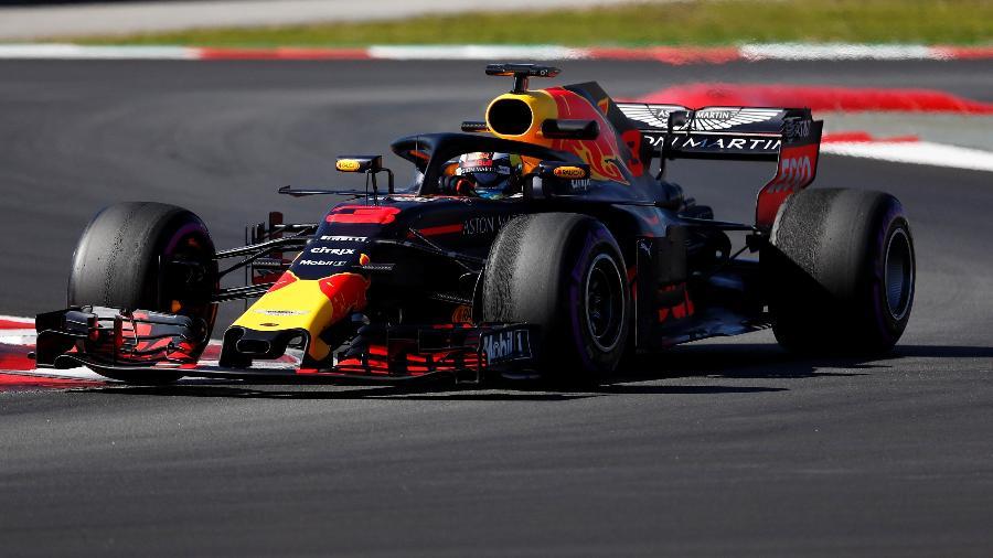 Daniel Ricciardo foi o grande nome dos treinos livres - Juan Medina/Reuters