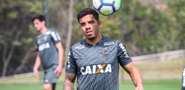 David Terans, meia-atacante do Atlético-MG, tenta se firmar na equipe de Thiago Larghi - Bruno Cantini/Divulgação/Atlético-MG