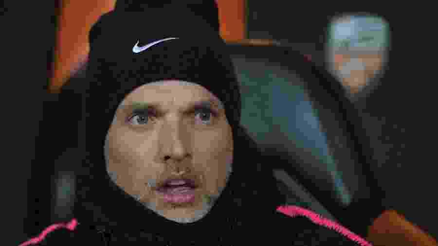 Thomas Tuchel comandou o PSG em 41 partidas, venceu 33, empatou quatro e perdeu quatro - LOIC VENANCE / AFP