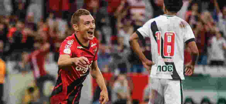 Athletico, de Marco Rubén, foi um dos destaques da primeira rodada do Campeonato Brasileiro - Gabriel Machado/Agif
