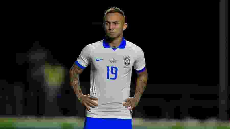 Everton marcou o último gol do Brasil na vitória por 3 a 0 contra a Bolívia - Thiago Ribeiro/AGIF