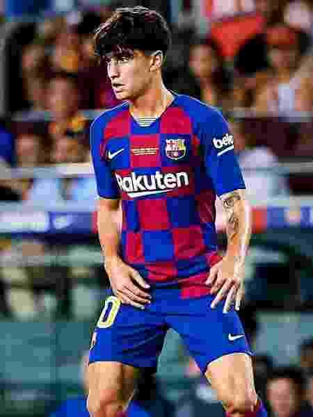 Barcelona: Alex Collado, do time B, faz golaço de dar inveja até em Messi  - Reprodução/Instagram