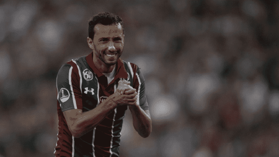 Nenê em jogo do Fluminense - Lucas Merçon/Fluminense FC