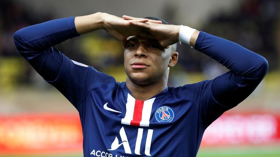 Mbappé virou prioridade no PSG após Neymar deixar claro que quer sair do clube francês - Eric Gaillard/Reuters