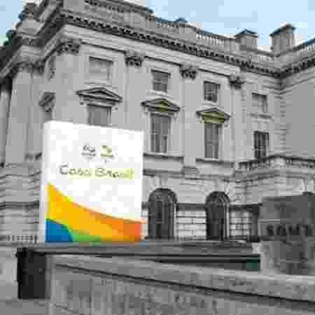 Casa Brasil em Londres - Divulgação / Comitê Organizador dos Jogos Olímpicos e Paralímpicos Rio 2016