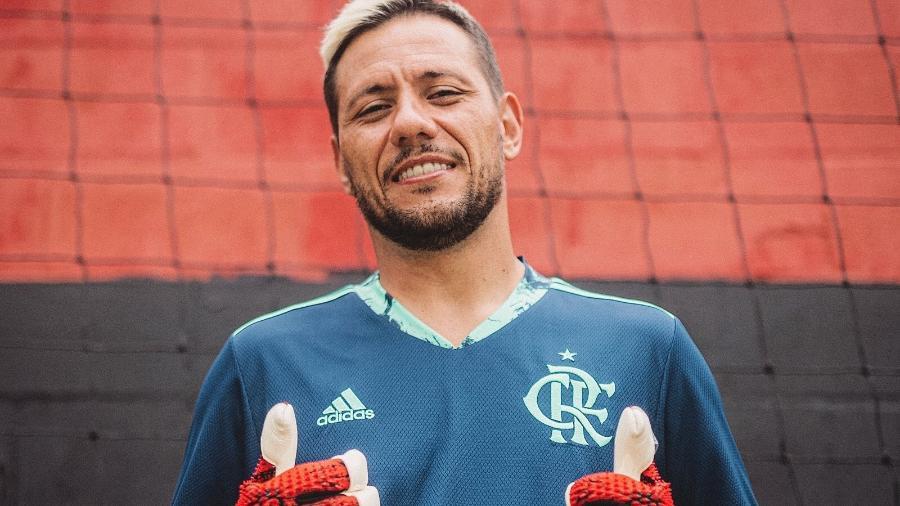 Diego Alves, goleiro do Flamengo, se aproxima do retorno ao time - Divulgação