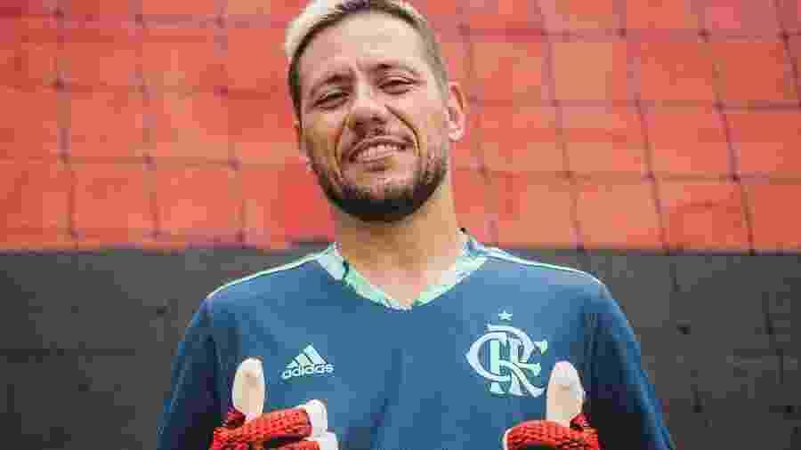 Diego Alves, goleiro do Flamengo - Divulgação