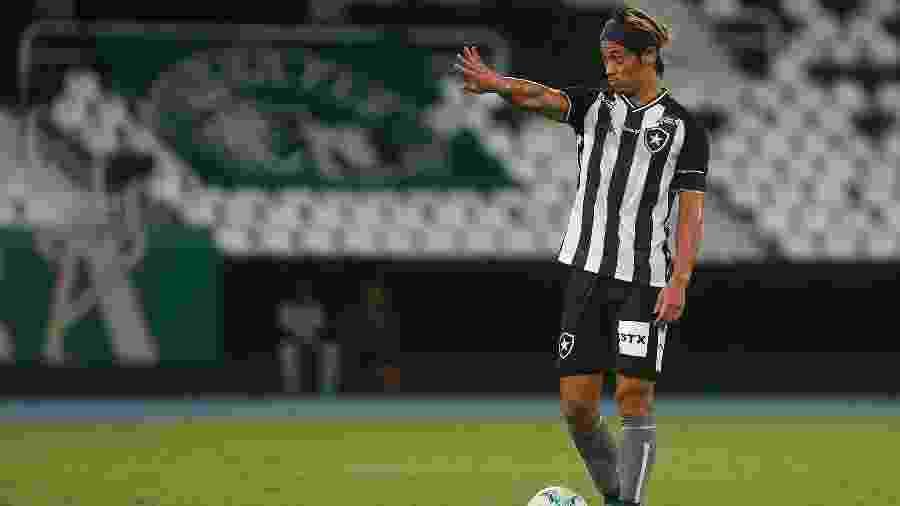 Honda organiza time do Botafogo durante clássico com Fluminense no Nilton Santos - Vitor Silva/BFR