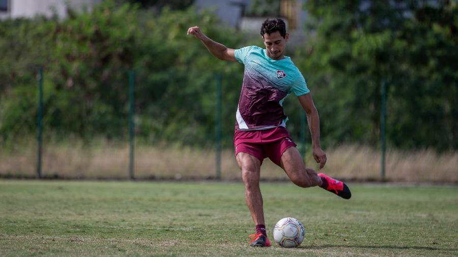 Ganso tem um edema na coxa esquerda e deve virar desfalque no Fluminense - Lucas Merçon/Fluminense FC