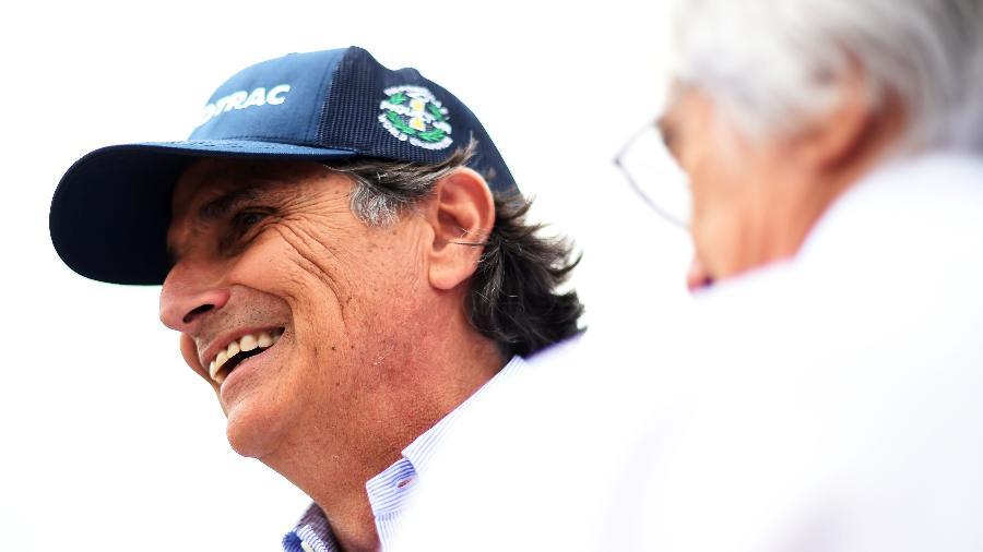 Nelson Piquet no GP da Hungria em 2015 - Lars Baron/Getty Images