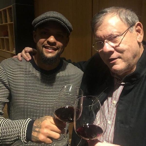 Felipe Melo e Milton Neves jantaram juntos na sexta-feira, e deu ruim para o Palmeiras