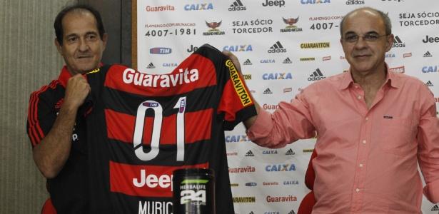 Muricy disse que dirigentes do Flamengo foram honestos quanto à estrutura do clube - Gilvan de Souza/Flamengo