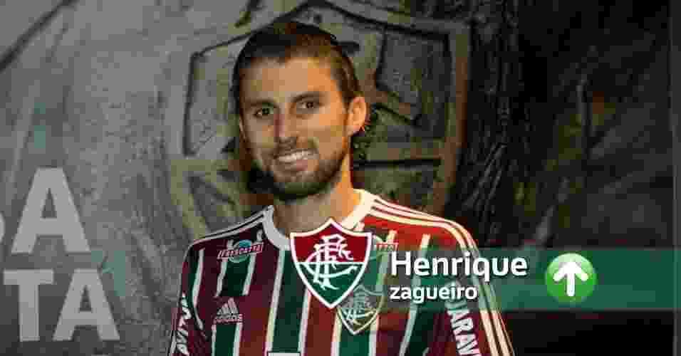 Contratações para 2016 - Divulgação/Fluminense