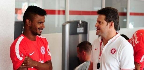 Fernando Bob foi indicado pelo técnico Argel Fucks ao Internacional em 2016 - Ricardo Duarte/Divulgação SC Inter