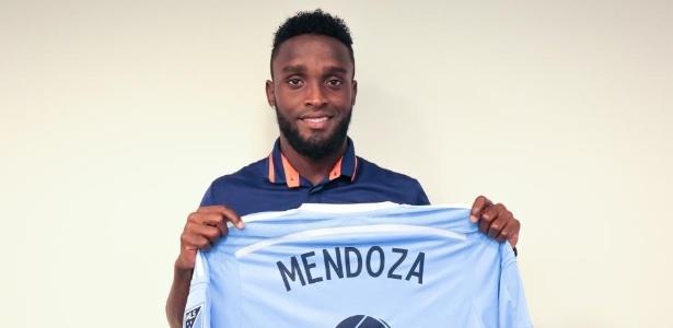 Mendoza defendeu New York City em 2016 - Divulgação / New York FC