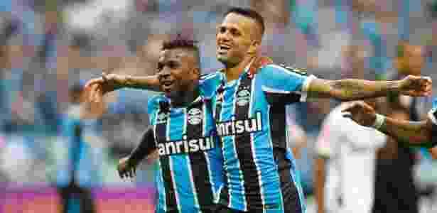 Luan abre o placar para o Grêmio contra o Atlético-MG - Lucas Uebel/Grêmio FBPA - Lucas Uebel/Grêmio FBPA