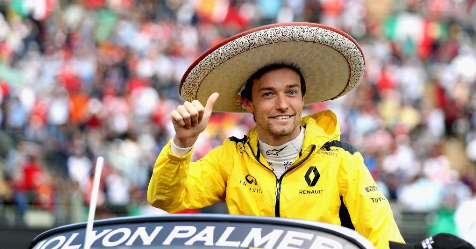 Jolyon Palmer, piloto francês, correrá pela Renault em 2017