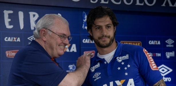Contratado por empréstimo até o final do ano, volante já era sonho antigo do Cruzeiro