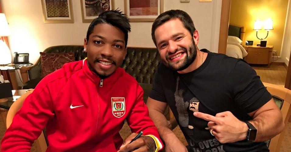 Brasileiro Marinho assina contrato com o Changchun Yatai, da China