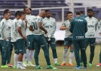 Com programação alterada, Palmeiras faz último treino tático no Uruguai