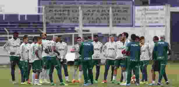Palmeiras fez o último trabalho antes do jogo contra o Peñarol - Cesar Greco/Ag. Palmeiras